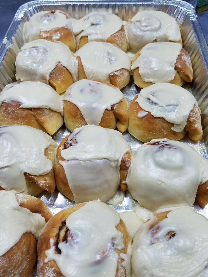 Front Door Catering - Cinnamon Rolls