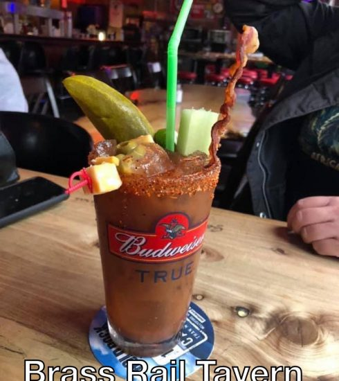 Brass Rail Bloody Mary