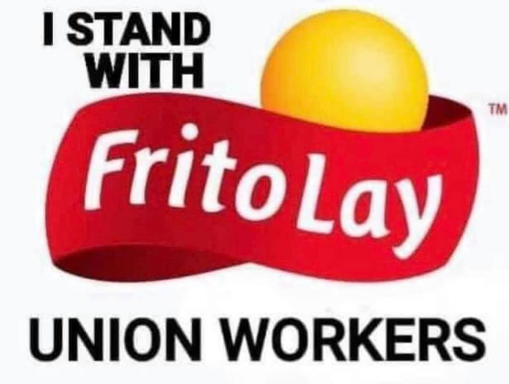 Frito Lay Union Workers